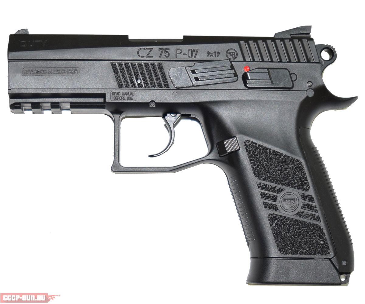 Пневматический пистолет ASG CZ 75 P 07 Duty BlowBack