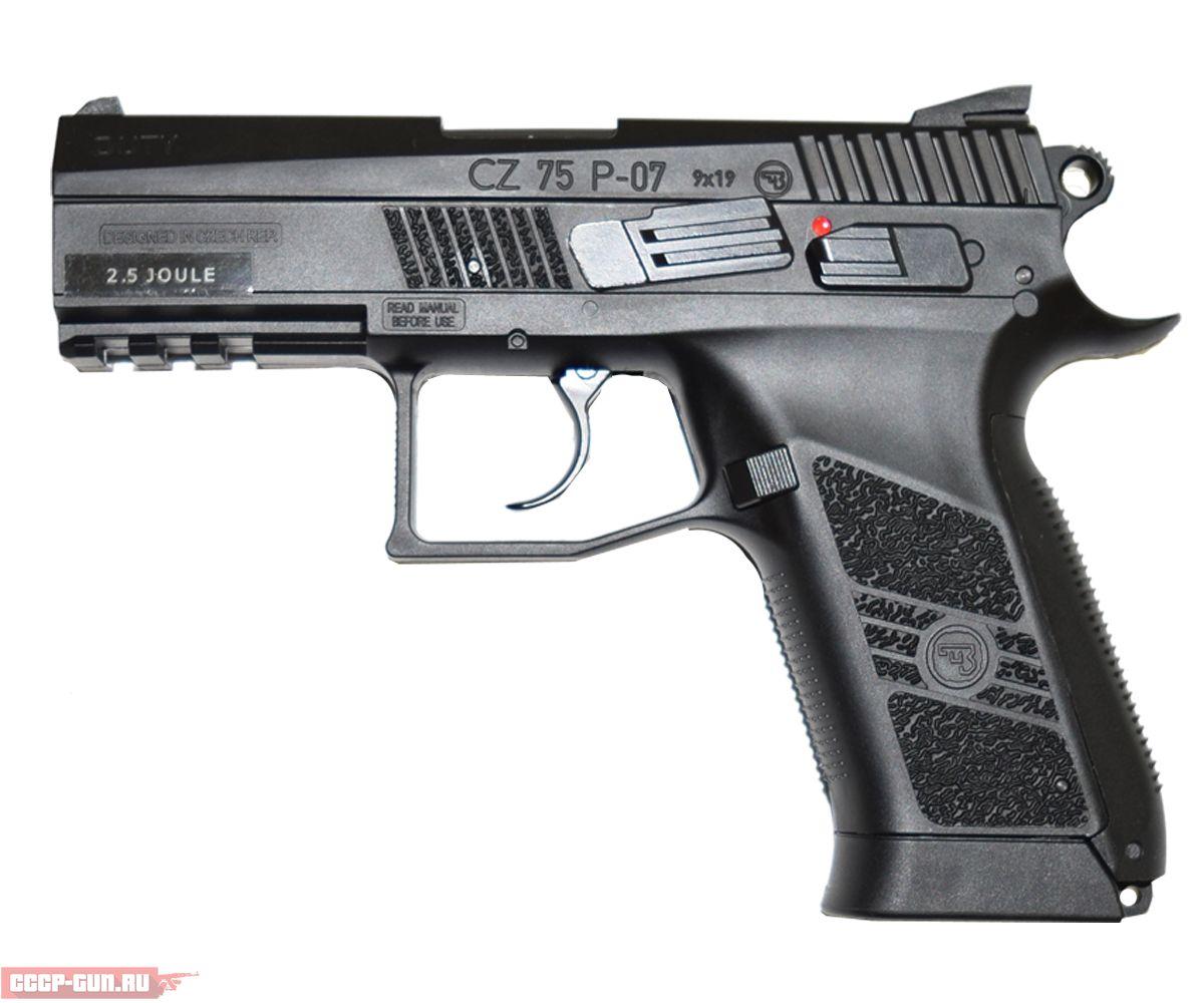 Пневматический пистолет ASG CZ-75 P-07 Duty