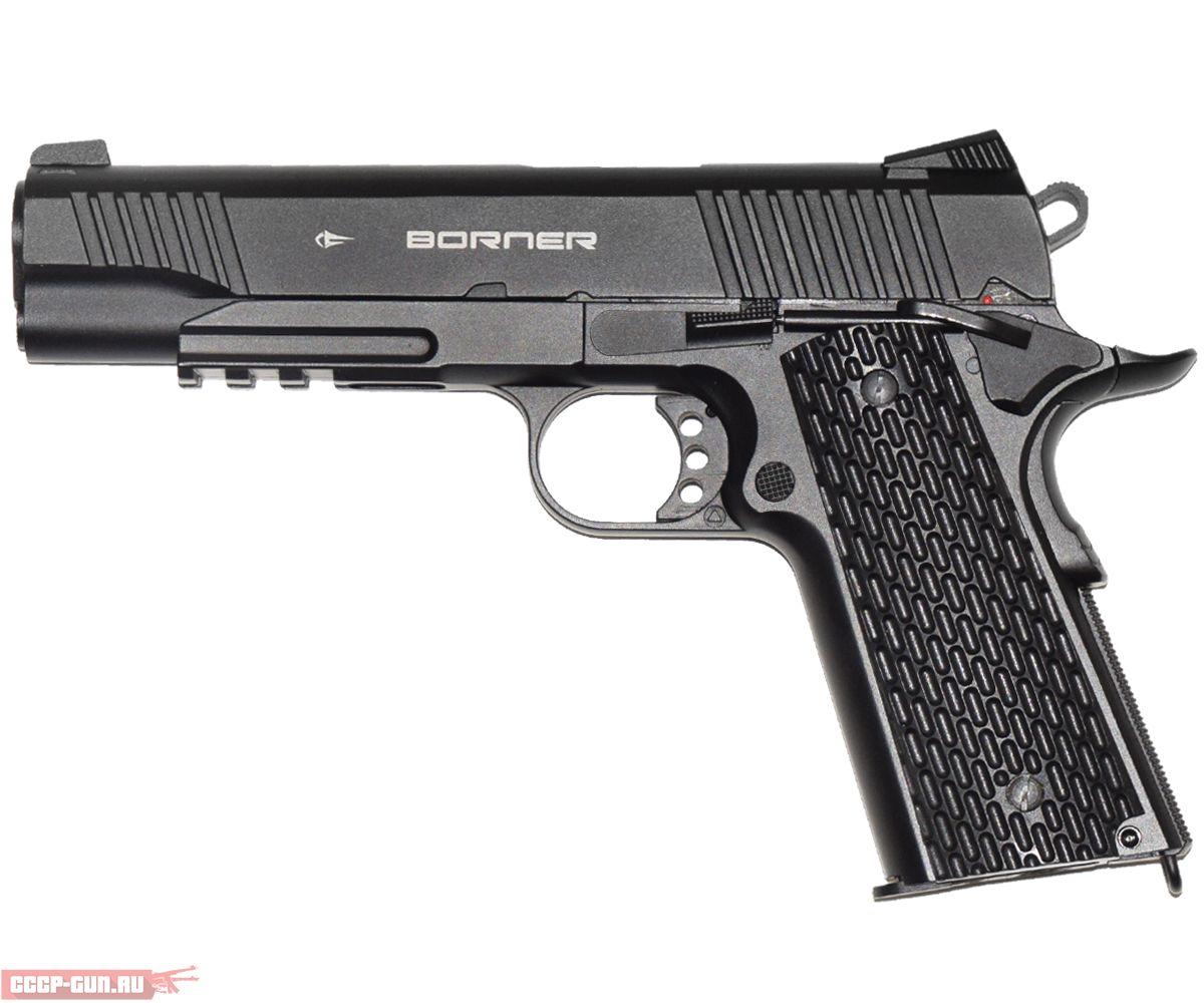 Пневматический пистолет Borner KMB 77 (Кольт 1911)