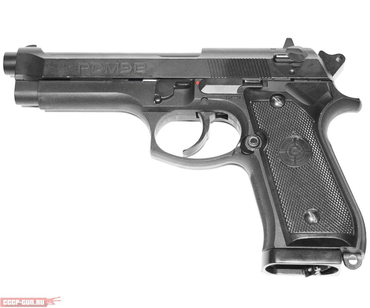 Пневматический пистолет Crosman PDM9B Blowback