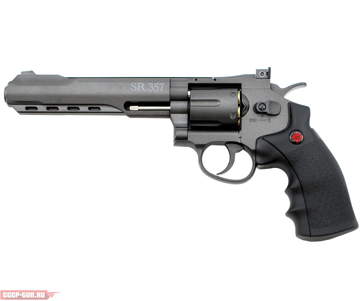 Пневматический револьвер Crosman SR 357 Black