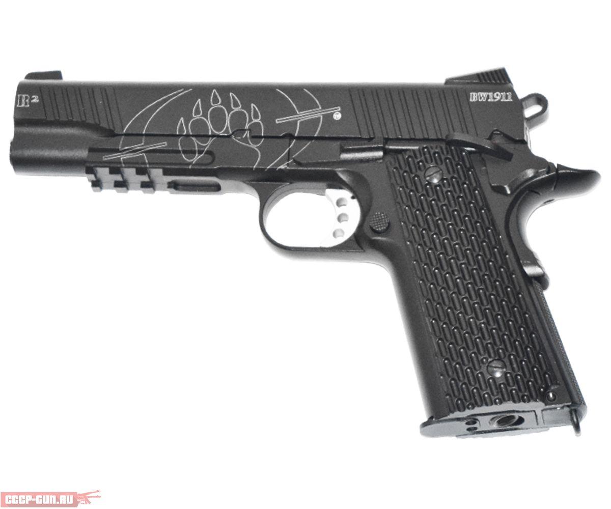 Пневматический пистолет Swiss Arms BW 1911 R2