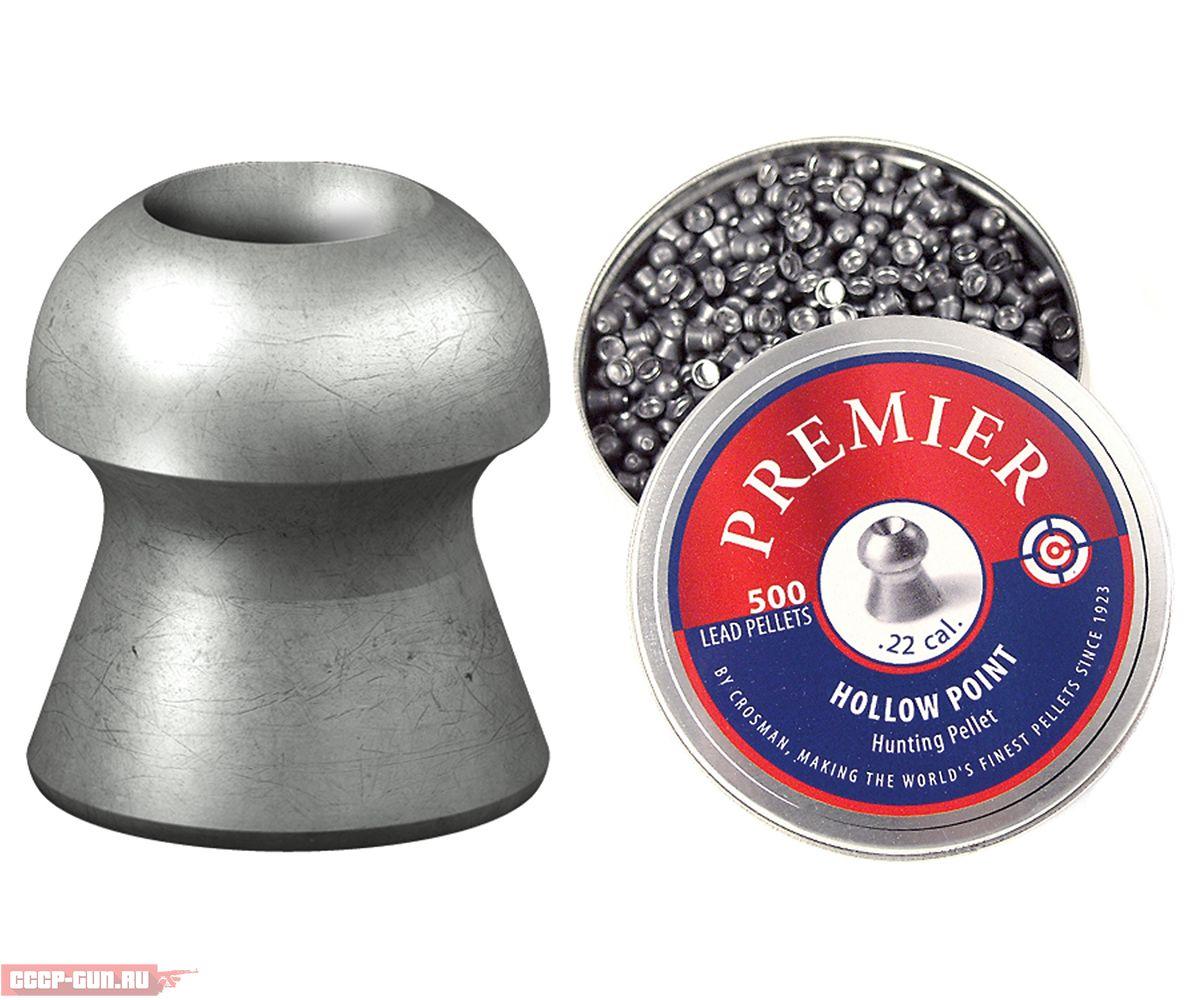 Пули пневматические Crosman Premier Hollow Point (500 шт, 0.51 г)